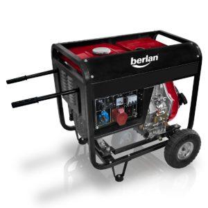 Stromerzeuger Diesel mit Transport Rädern